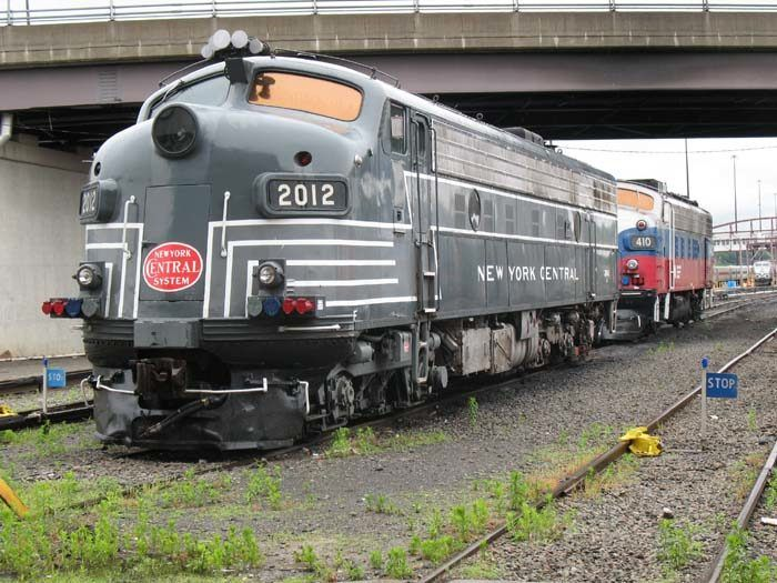 Metro North 2012 FL9	(EMD)	Retired; may be scrapped