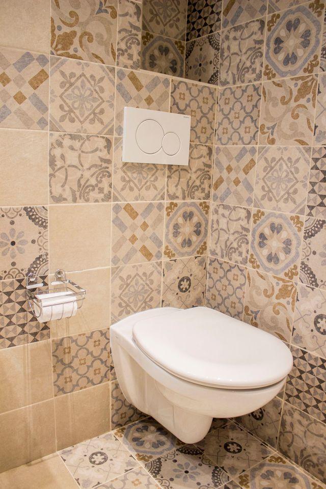 Carrelage pour wc meilleures images d 39 inspiration pour votre design de maison - Deco wc chic ...
