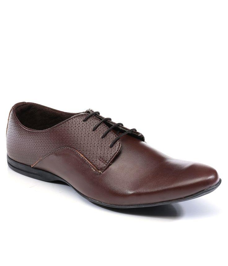Provogue Brown Colour Formal Shoes