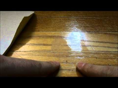 How To Fix Gouges, Dents, And Deep Scratches In Hardwood Floors - YouTube