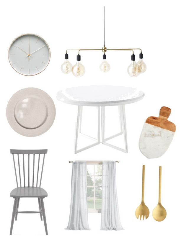 Kitchen by majkenmatilda on Polyvore featuring polyvore, interior, interiors, interior design, home, home decor, interior decorating, Serena & Lily, kikki.K and kitchen