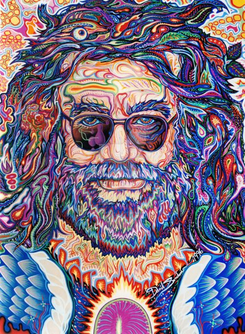 losing-creativity: Jerry Garcia Captain Trips by ...