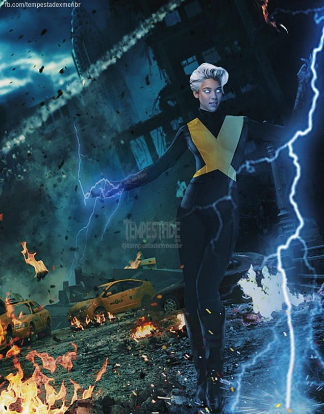 Storm X Men Dark Phoenix By Tempestadexmenbr01 Dark Phoenix X Men Storm Xmen