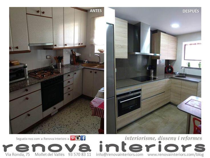 Antes y despues cocina c h j - Cocinas antes y despues ...