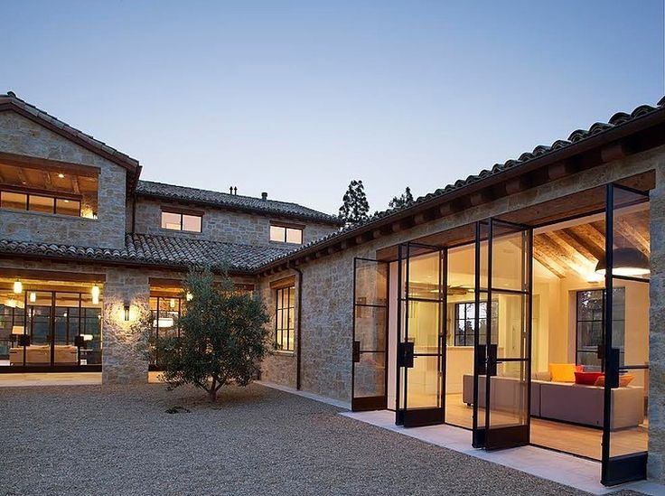 Stone Maison by Ken Linsteadt Architects