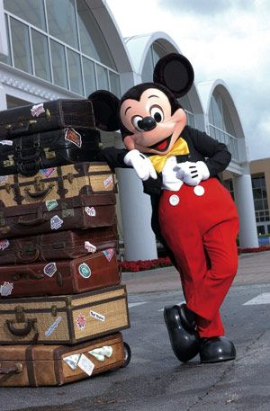 Travel by Eurostar to Disneyland Paris & use the Disney Express Luggage Service