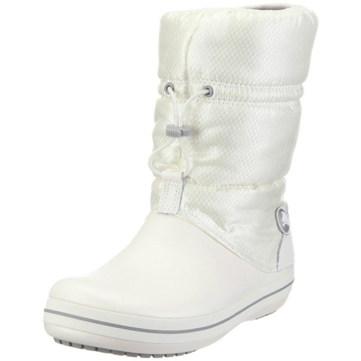 modernas botas blancas Crocs 2013 mujer