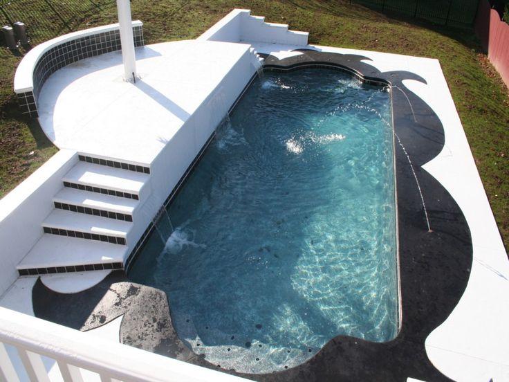 Top 25 best fiberglass inground pools ideas on pinterest - Diy fibreglass swimming pool installation ...