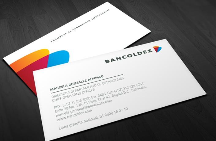 BANCOLDEX / Revitalización de imagen para el banco de desarrollo empresarial más importante de Colombia / www.aluzian.com