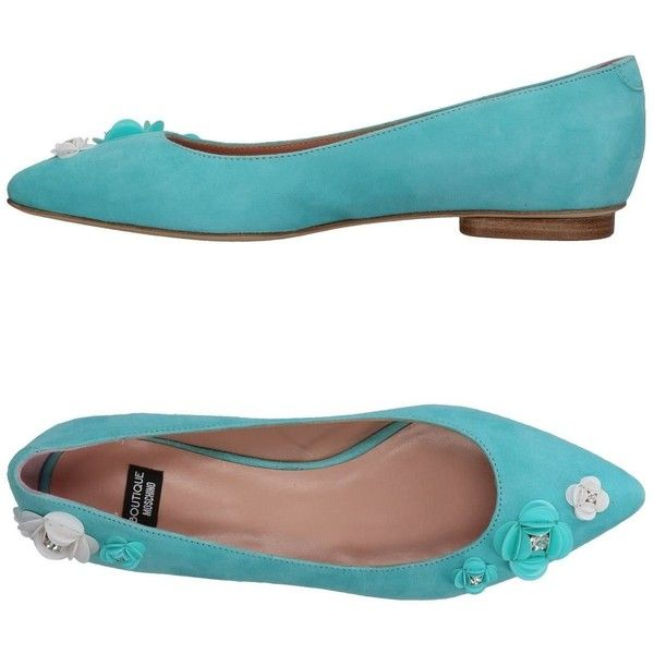 d049f1076db Boutique Moschino Ballet Flats ( 295) ❤ liked on Polyvore featuring shoes