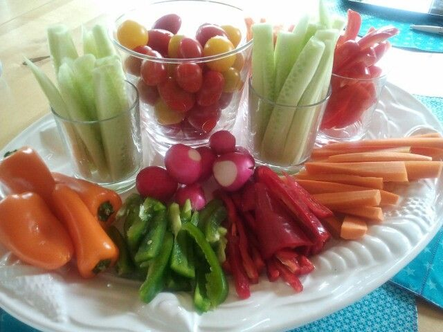 Rohkostplatte /Veggie food