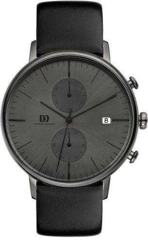 Danish Design Herren-Armbanduhr IQ16Q975 Analog Quarz Leder IQ16Q975 - http://uhr.haus/danish-design/danish-design-herren-armbanduhr-iq16q975-analog
