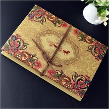 34.79 ali Encanto boda libro de visitas 2015 Memorial clásica de papel álbum Gatefold libro de visitas recuerdos de la boda con estilo ac(China (Mainland))
