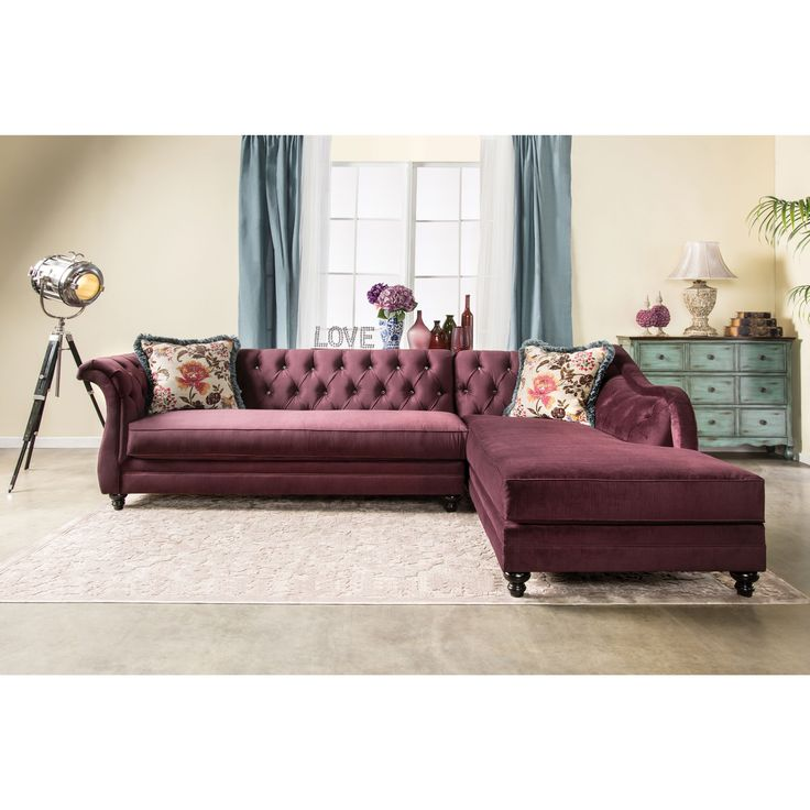 17 Best Ideas About Tufted Sectional On Pinterest