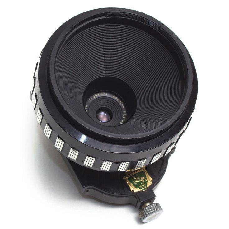 Schneider Kreuznach 65mm F6.8 Angulon Vario-Flex II Tilt Shift LENS Nikon F Rare #Schneider