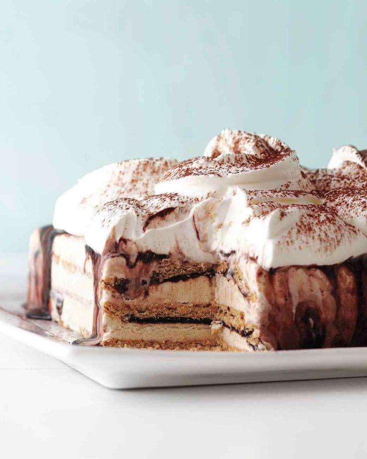 Fudgy Ice Cream Cake recipe by Martha Stewart