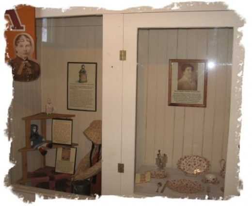 Some artifacts in the Laura Ingalls Wilder Museum. The Laura Ingalls Wilder…