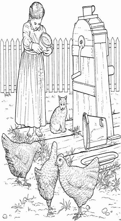 coloring pages farm 13 animal coloring pagescoloring book