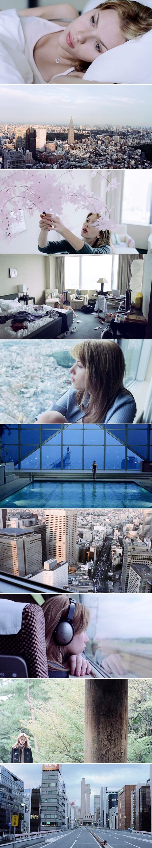 Lost in Translation (2003), dir. Sofia Coppola. Such a sweet, gentle, film. Totally understated.