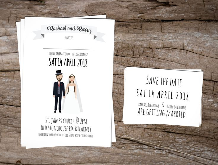 The Happy Couple Wedding InvitationsWedding Invitations to start your exciting adventure together