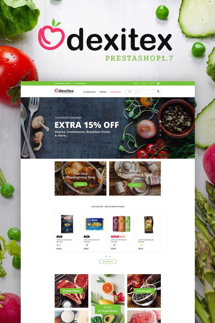 Dexitex - Grocery Market PrestaShop Theme Big Screenshot