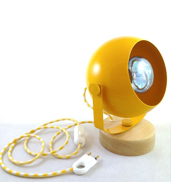 Handmade Space Table Lamp / Large Globe / Handmade by Lambater