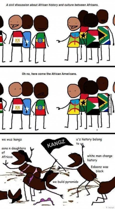 They can't even name two countries from Africa