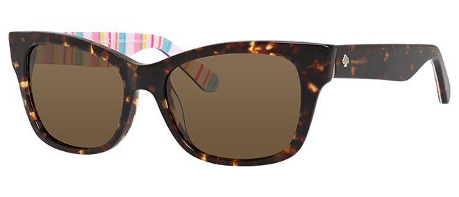Kate Spade Alora Polarized Rectangle Sunglasses
