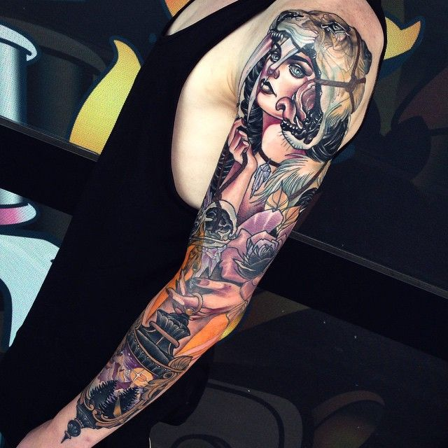 Tattoo by Kat Abdy