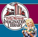 Dolly Parton's 'Imagination Library' book distribution program.