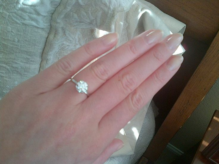 1 6 Carat Round Brilliant Diamond Solitaire Ring 1 5 Mm