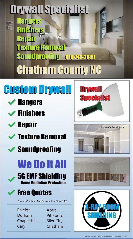 ️ Custom Ceilings Chapel Hill. Drywall Specialist