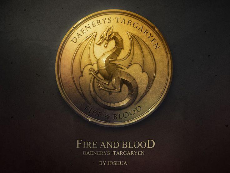 Daeneryss gold coin