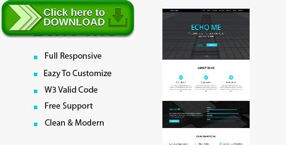 [ThemeForest]Free nulled download Echo me portfolio from http://zippyfile.download/f.php?id=9705 Tags: bootstrap, business, clear, company, developer, efficient, fast, high quality, modern, portfolio, responsive, simple, template, theme, vivid