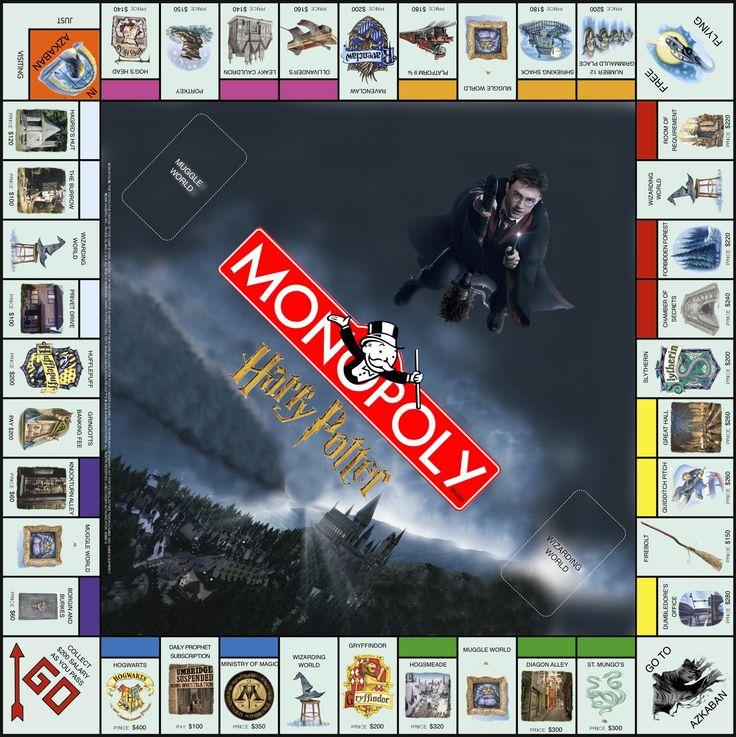 Resultado De Imagen De Monopoly Millionaire Wrap Harry Potter Monopol Harry Potter Spiele Harry Potter Selber Machen