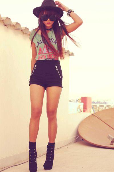 como usar baixinha pode usar shorts!                              …