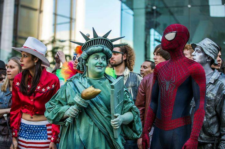 Amazin spiderman 2 y la gorda