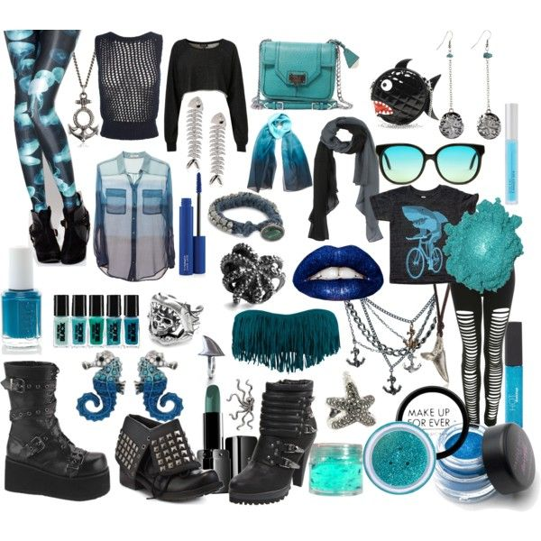 Sea Punk, created by karathekraken on Polyvore