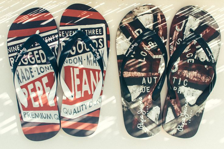 Make them -your- Pepe Jeans flip flops, sales are still on! http://www.jeanious.com.gr/brands/pepe/