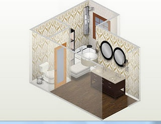 Virtual Bathroom Makeovers 16 best douches en céramique images on pinterest | bathroom ideas