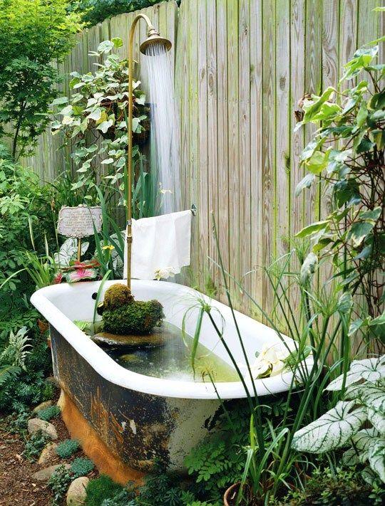 Relatively 35 best BATHTUB GARDEN images on Pinterest | Soaking tubs  EQ17