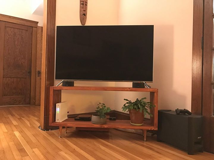 a Simple Modern TV Stand Made with Cheap 2x4s Check out the full project http://ift.tt/2ikvVf8 Don't Forget to Like Comment and Share! - http://ift.tt/1HQJd81
