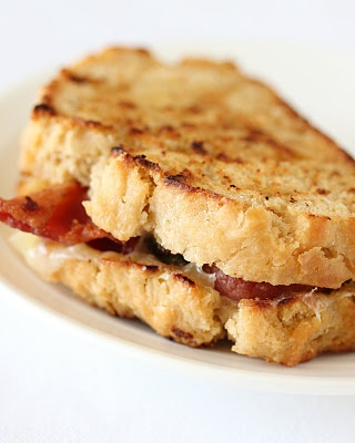 Bacon Grilled Cheeses