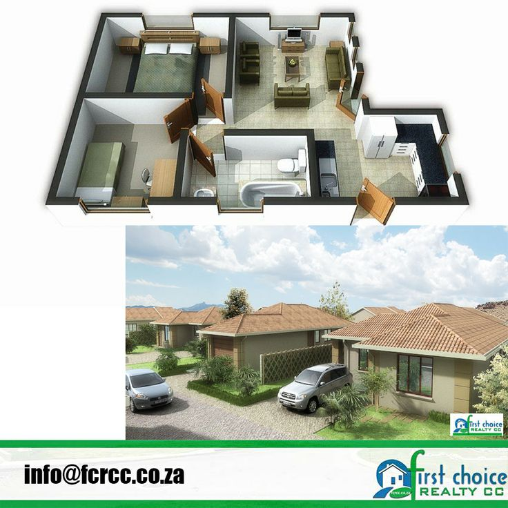 Development in Vereeniging! Powerville Park! 2 & 3 Bedroom plans available Plans are easily customised to include items such as a garage, carport or any additional feature that you as a client might need to create your ideal home For more click here: http://bit.ly/1lHIOtg Visit our website: http://bit.ly/1hcfKVn #Vereeniging #affordablehousing #property