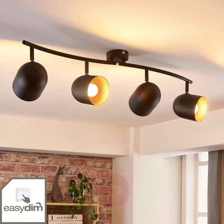 Four-bulb LED ceiling spotlight Morik, dimmable-9621242-02