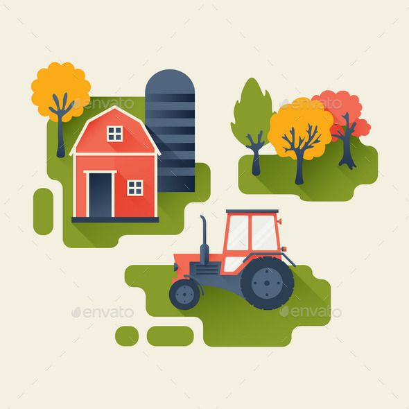 Agricultural Industry Concept
