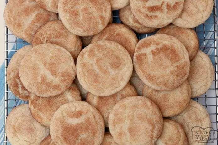 Klassisches Rezept für Snickerdoodle-Kekse für die besten Snickerdoodles aller Zeiten! Soft & Ch …
