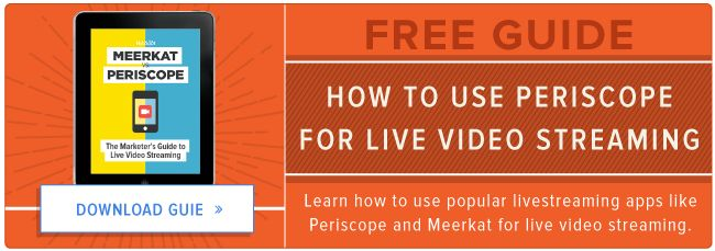how to use periscope for livestreaming