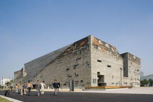 History Museum: Ningbo, China. Wang Shu