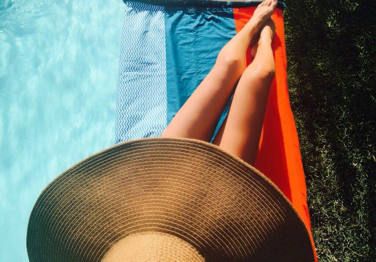 Summer time. Summer towel